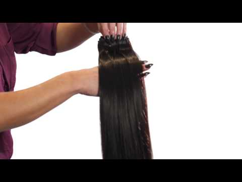 Ebony hair beauty extensions