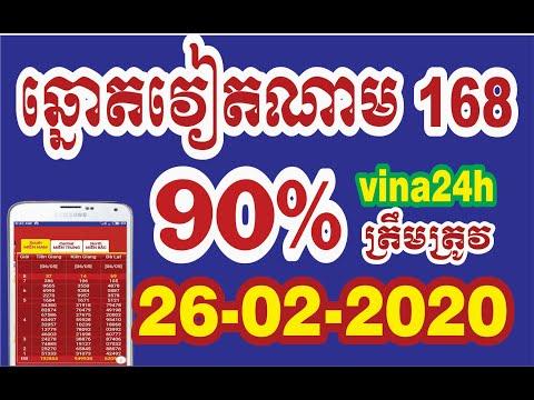 តំរុយឆ្នោតយួន ថ្ងៃទី 26/02/202 Vietnamese Lottery Predictions