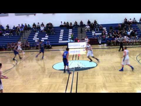 VUHS Varsity Boys Basketball vs Lake Region 12.8.15