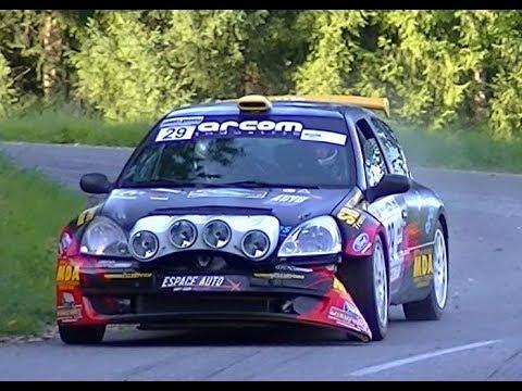 Rallye des Bornes 2017 ( Rallye-Scratch ) Gliss - Show - Crash