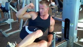 Fitness Model James Ellis\'s Favorite AB Routine