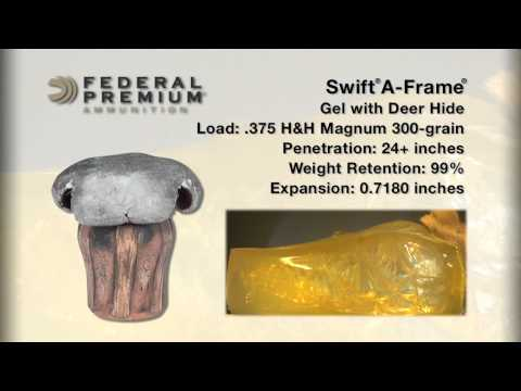 Bullet Performance: Federal Premium Swift A-Frame