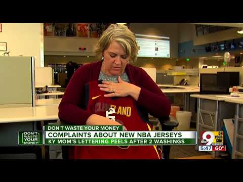 Complaints about new NBA jerseys