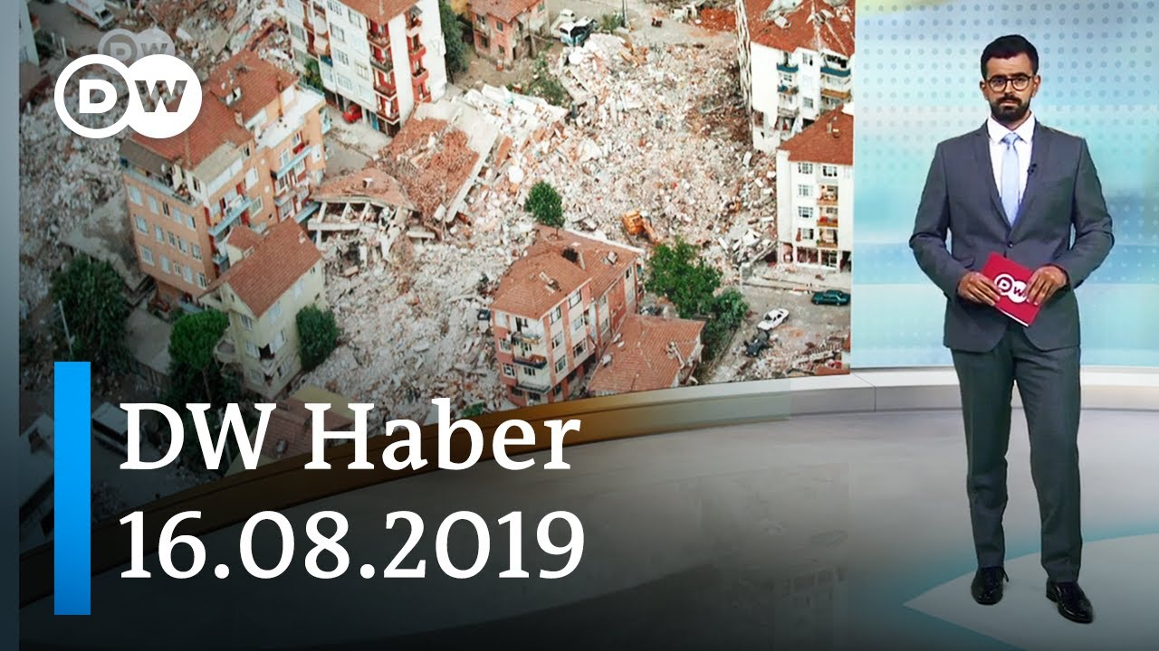 DW Haber: İstanbul depreme hazır mı? (16.08.2019) - DW Türkçe