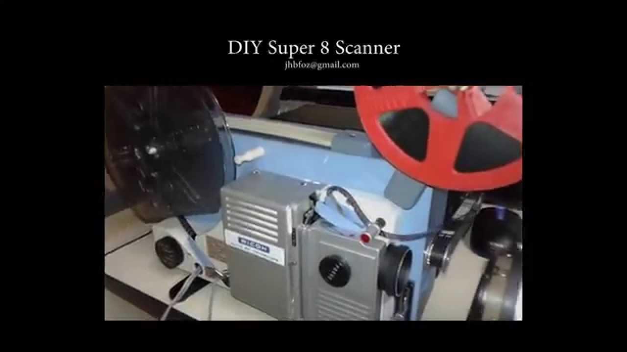 diy super 8 scanner film transfer youtube. Black Bedroom Furniture Sets. Home Design Ideas