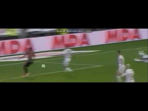 Moukandjo goal Lyon vs Lorien 1-3
