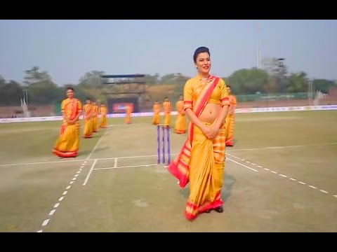 Air India Copy Emirates Air Hostess Safety Practice At Celebirty Cricket League