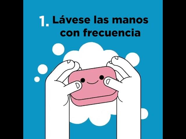 Siete pasos para prevenir la propagación del Coronavirus