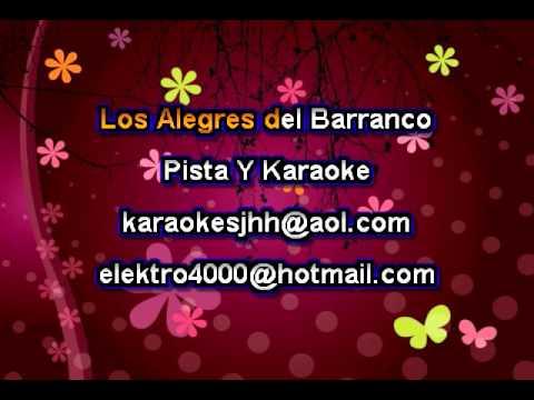 El Verde Pinto - Los Alegres Del Barranco - Karaoke demo