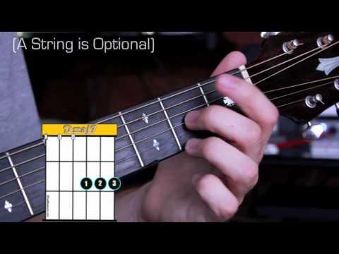 Dmaj7 Guitar Chord Worshipchords