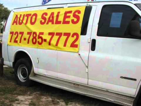 "1999 Chevrolet Express Cargo Van 3500 135"" WB (Palm Harbor, Florida)"