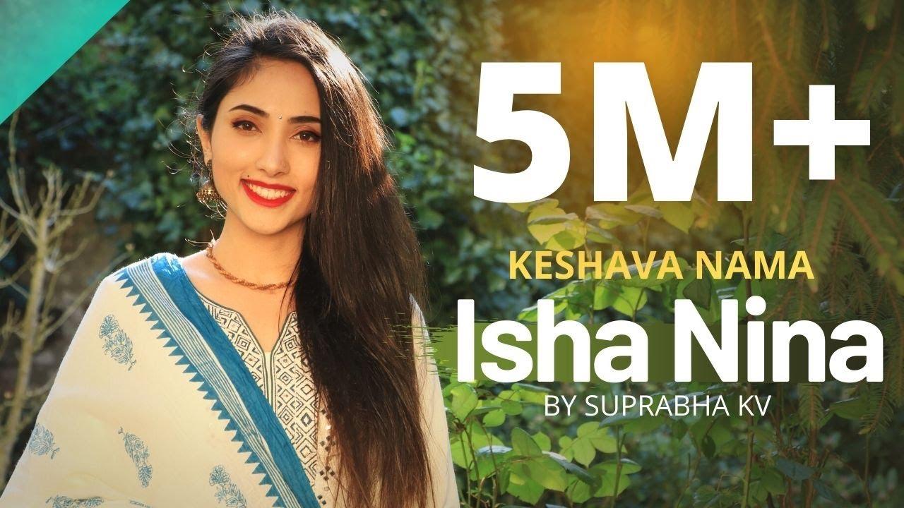 Eesha Ninna Charana Bhajane Lyrics | Keshava Nama| Suprabha KV|Selflyrics