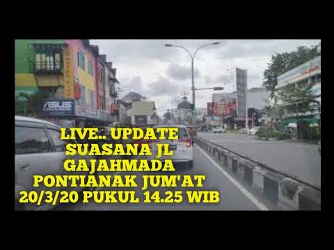 live..-update-suasana-jl-gajahmada-pontianak-jum'at-20/3/20-pukul-14.25