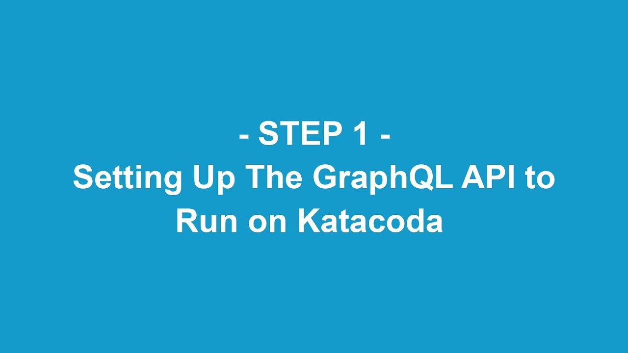Understanding GraphQL Using IMBOB by reselbob | Katacoda