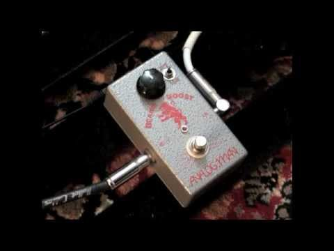 Analogman Beano Boost Treble Booster Pedal Demo