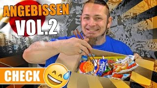 JAPAN CANDY CHALLENGE 🍭 Angebissen Vol.2 [German, Deutsch]