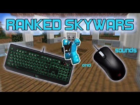 (Ranked Skywars) Easy [1500] Rating - Mouse And Keyboard Sounds