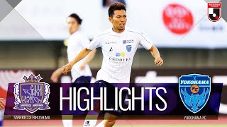 サンフレッチェ広島vs横浜FC J1リーグ 第22節