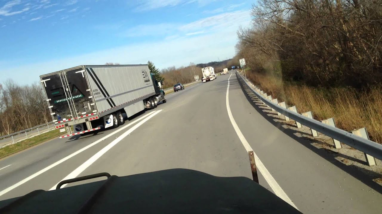 M925 5-ton drive driving on interstate youtube.