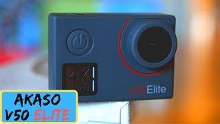 Akaso V50 Elite Action Camera - 4K 60FPS on a Budget