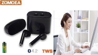 ZOMOEA Bluetooth 4.2 Earphone Wireless Earphone with Microphone Headset - #AliExpress #AliAddict