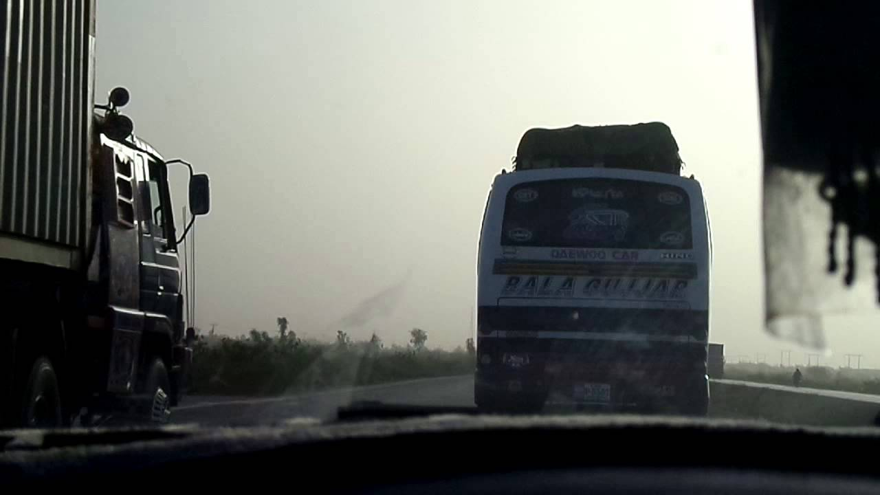 BALA GUJJAR DAEWOO ON SUPERHIGHWAY - YouTube