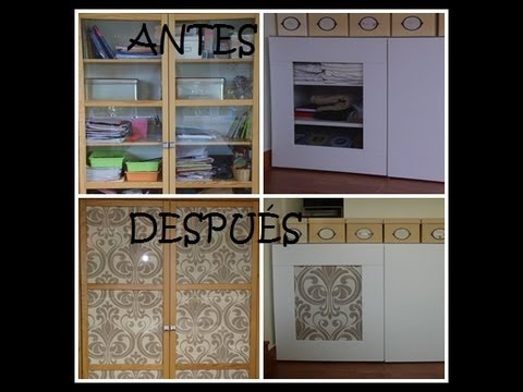 Diy decorar habitaci n estanter a 2 youtube for Sticker para decorar dormitorios