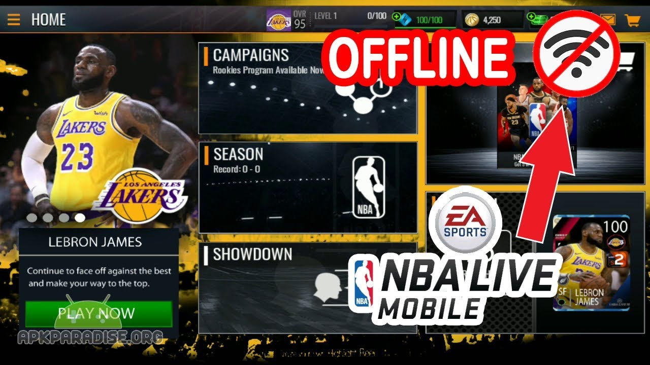 download nba live mobile offline apk