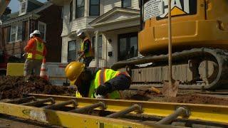 Newark begins $75M lead water pipe replacement program