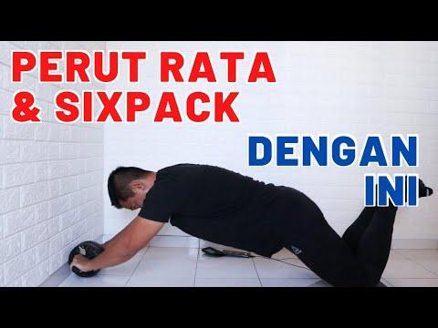 PERUT RATA dengan Latihan ini (ROLLER ABS Khusus Pemula)