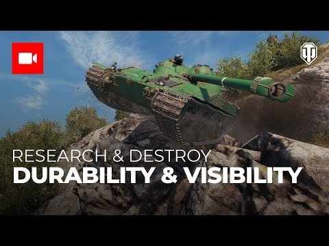 Research & Destroy: Durability & Visibility
