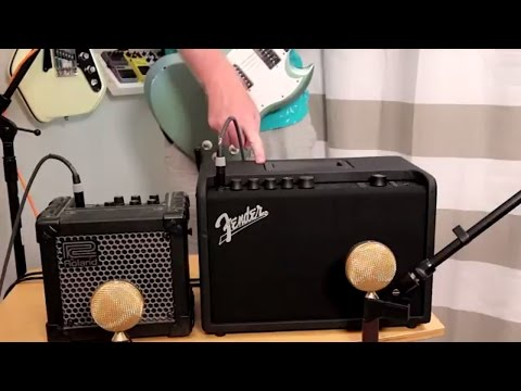 Fender Mustang GT40 VS Roland Micro Cube