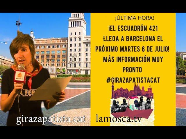 Agenda arribada Zapatista a Europa