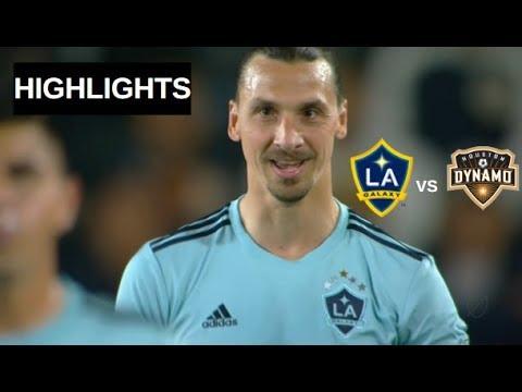 Zlatan Ibrahimovic vs Houston Dynamo Highlights   LA Galaxy vs Houston Dynamo 19/04/2019