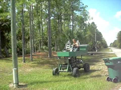 mini atv swamp buggy - YouTube