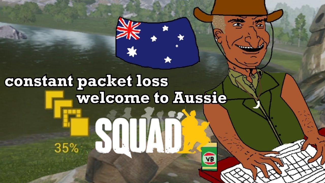 when Australians play Squad