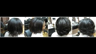 Relaxed Hair | Relaxed Hair FULL VIDEO Blow-Dry and Flat-Iron Tutorial
