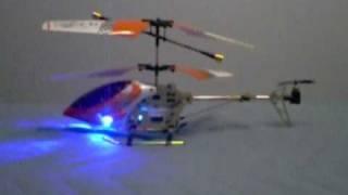 Mini Helicoptero com Gyro - Estrutura fabricada em metal