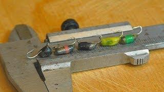 Как сделать мормышки на карася , плотву и окуня без пайки. My fishing