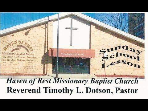 Sunday School Lesson February 25, 2018 The Good Fight of Faith