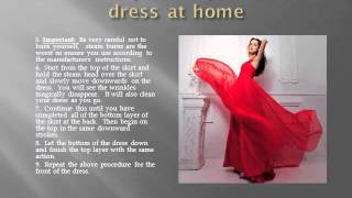 How to dry clean your formal dress Thumbnail