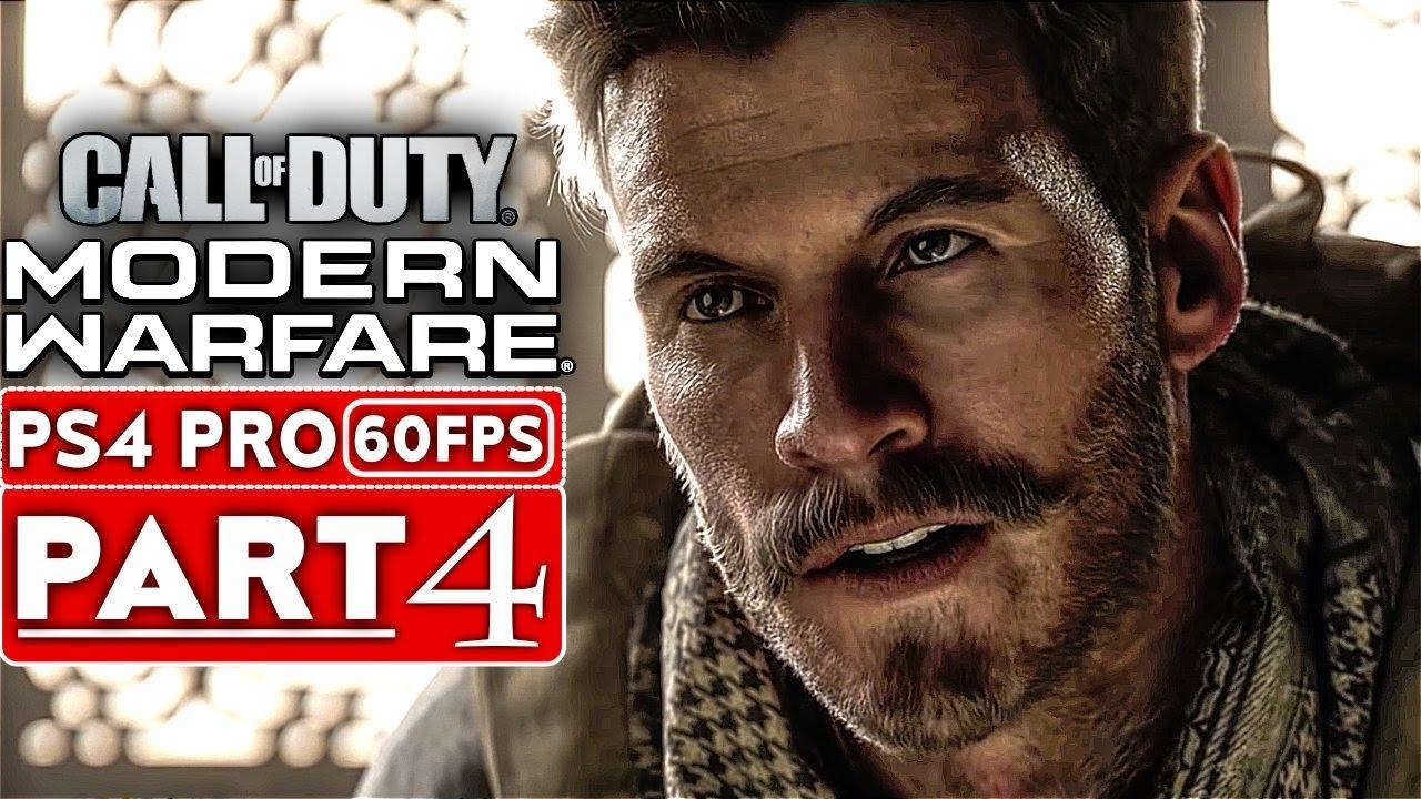 Campanha da Parte 4 de Gameplay: Call of Duty MODERN WARFARE [1080p HD PS4] - Sem análises + vídeo