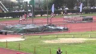 港九區D1中學學界田徑賽 2015-2016 BC 4X10