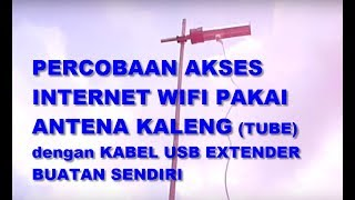 pvc antenna plus usb wifi extender cable by arif johar taufiq
