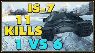 World of Tanks | IS-7 - 11 Kills - 8.3K Damage