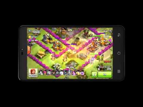 CLASH OF CLANS WORST DEFENSE EVER