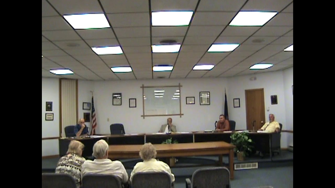 Rouses Point Village Board Meeting  8-20-18