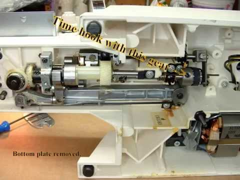 Singer Sewing Machine Adjustts - YouTube