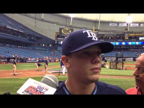 On Road To Recovery #Rays Jeremy Hellickson Talks About Throwing Batting Practice