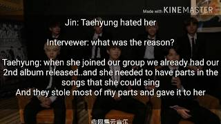 BTS ff - imagine you as the 8th member (interview)